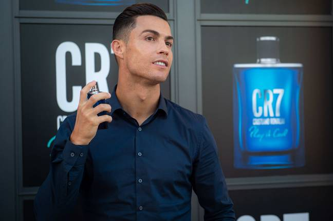 Cristiano Ronaldo spoke at the launch of his new fragrance 'Play It Cool'