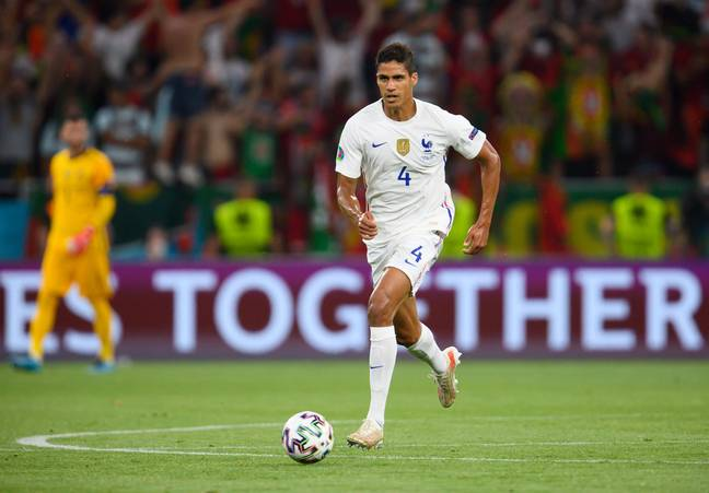 Signing Varane would allow Solskjaer to play more attacking players in his eleven. Image: PA Images