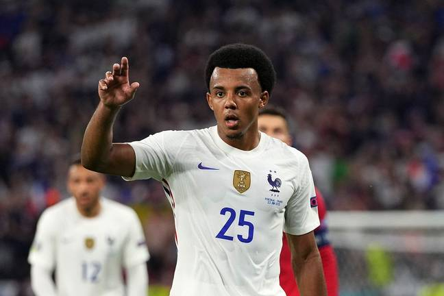 Kounde is on the verge of breaking into the starting line-up of the French national team