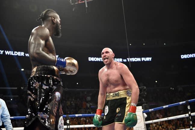 Tyson Fury vs Deontay Wilder. Credit: PA