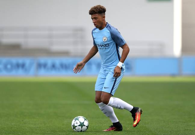 Sancho could have moved to Arsenal when he left City. Image: PA Images
