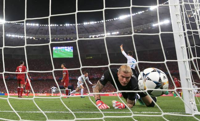 Karius made two errors as Real beat Liverpool 3-1 in the 2018 Champions League final. Image: PA Images