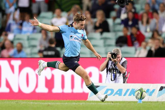 Will Harrison has been a standout performer for the Tahs. Credit: PA