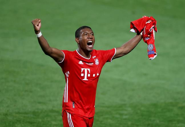 David Alaba captained Austria to their first Euros knockout stage in their history (Image: PA)