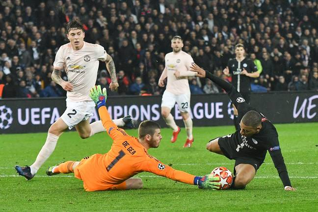 United might need some De Gea heroics to go through. Image: PA Images