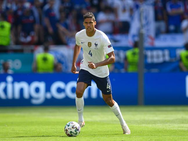 Varane could be on the way to Old Trafford. Image: PA Images