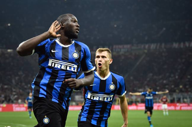 Lukaku now tearing it up for Inter. Image: PA Images
