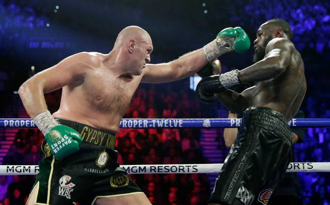 Fury dominated the fight from first to last. Image: PA Images