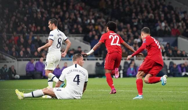 Spurs won't want reminding of the loss to Bayern at the end of the season. Image: PA Images
