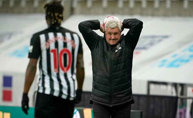 Newcastle United boss Steve Bruce. Credit: PA