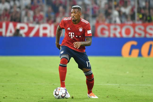 Boateng played against United in a friendly on Sunday. Image: PA Images
