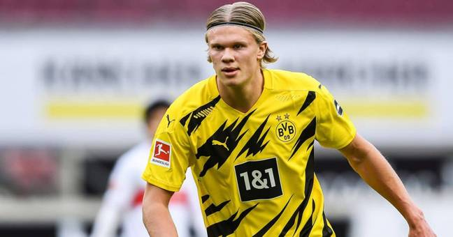 Borussia Dortmund are believed to want as much as £150m for Erling Haaland