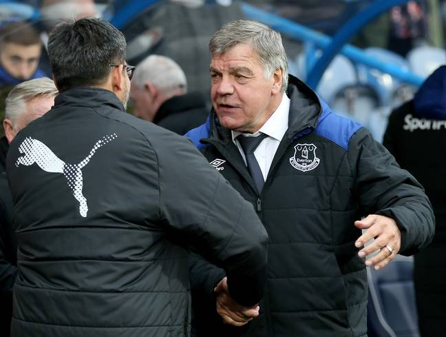 Big Sam hasn't managed since working for Everton. Image: PA Images