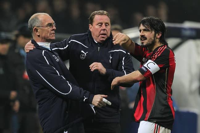 Gattuso being Gattuso. Image: PA
