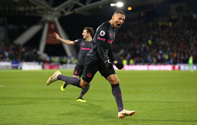 Despite his team's poor form Richarlison has been excellent again this season. Image: PA Images