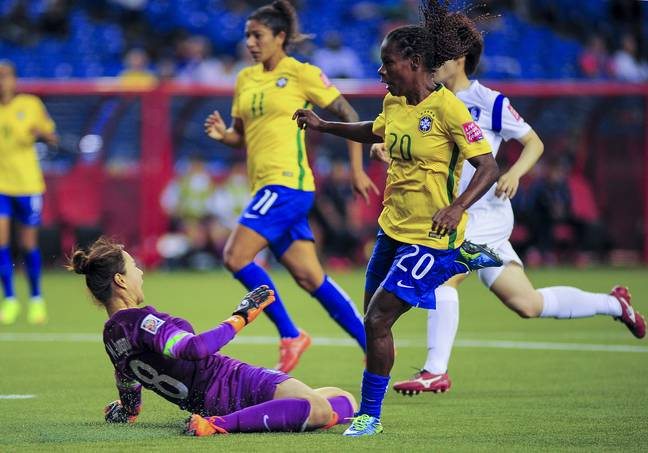 Formiga is set to make her seventh Women's World Cup