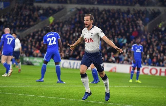Kane is only second top earner at Spurs since Bale returned. Image: PA Images