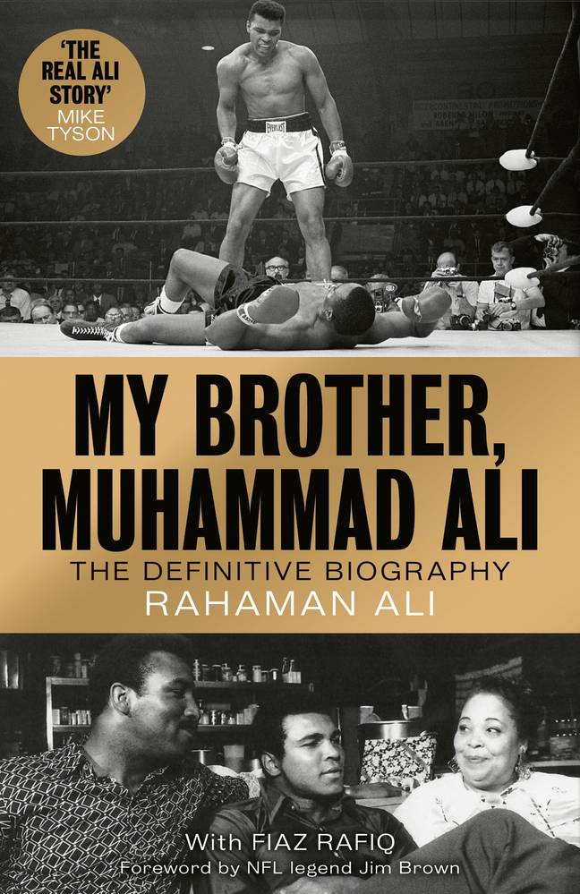 Rahaman was speaking promoting his new book, which documents his brother's legacy.