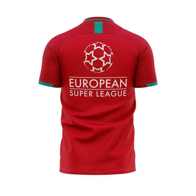 Liverpool Super League shirt