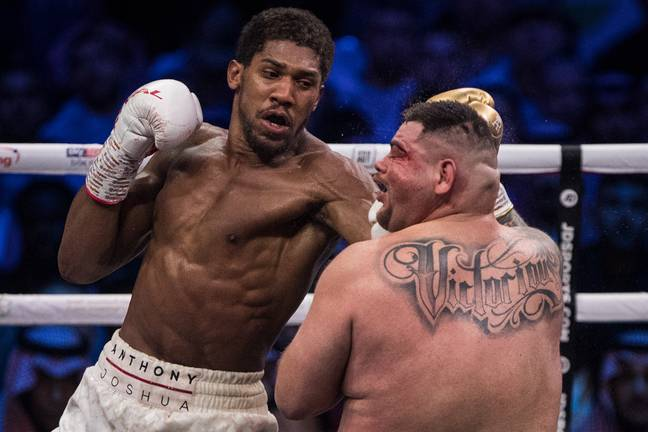 Ruiz was well beaten in the rematch in December. Image: PA Images