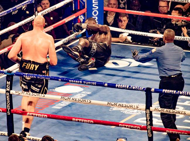 Fury knocked Wilder down several times on his way to a seventh round stoppage. Image: PA Images