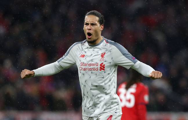 Van Dijk has made a massive difference to Liverpool this season. Image: PA Images