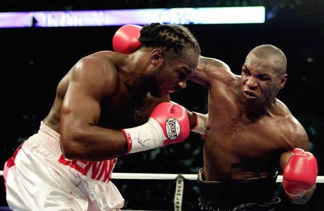 Lewis and Tyson faced off in 2002 and it was the former who came out on top. (Image Credit: PA)