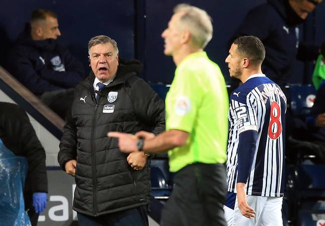 Allardyce returned to football with a loss to Aston Villa. Image: PA Imaged