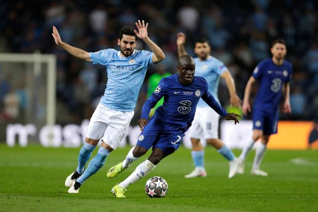 Kante was at his best in the Champions League final. Image: PA Images