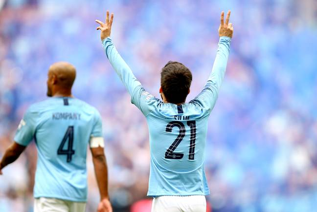 Silva scored 77 goals for City and also assisted his teammates 138 times. Image: PA Images