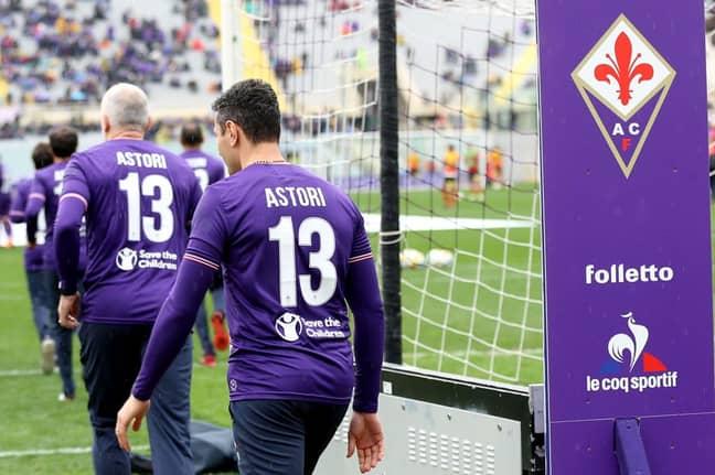 T-shirt tributes for Astori.