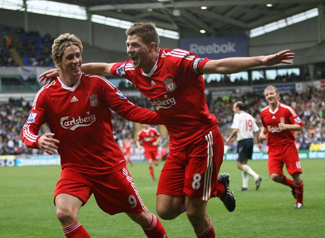 Gerrard and Torres had a great partnership. Image: PA Images