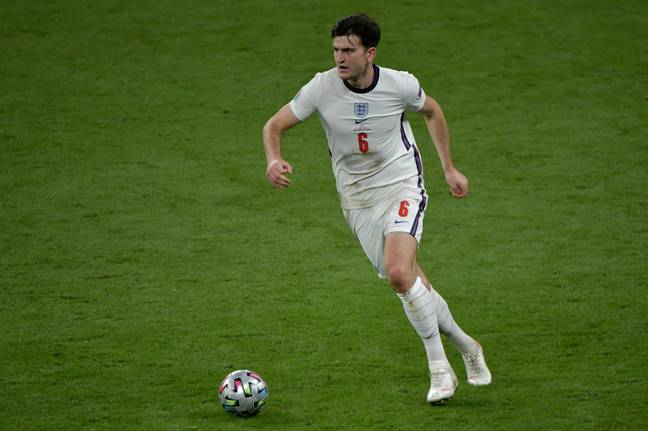 Maguire was excellent in the Euros for England, despite ending up on the losing side in the final. Image: PA Images