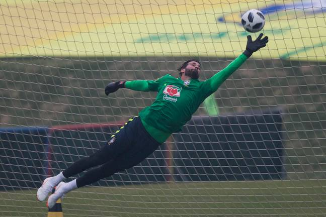 Alisson will be Brazil's number one at the World Cup. Image: PA Images