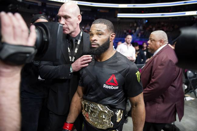 Tyron Woodley was the UFC Welterweight Champion for nearly three years