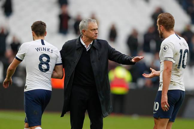 Jose Mourinho made a winning start to life as Tottenham manager at West Ham on Saturday