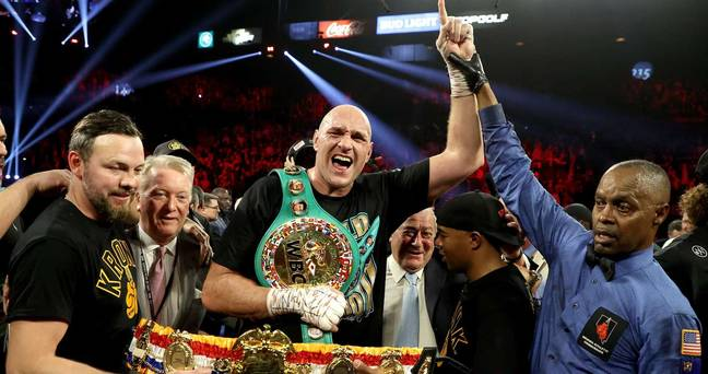 Tyson Fury is undefeated in 31 fights