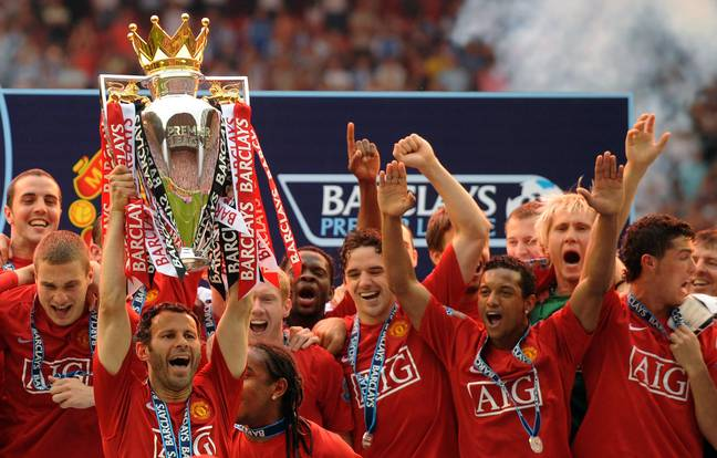 Giggs won the league 13 times. Image: PA Images