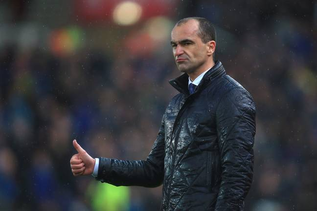 Will Roberto Martinez be the next Barca boss? Image: PA Images