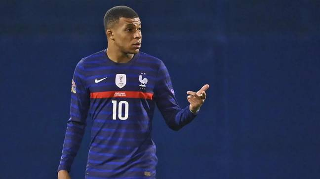 Kylian Mbappe will be leading the line for the French attack