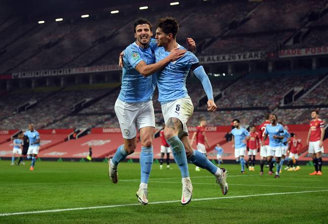 Dias and Stones have become City's first choice centre back pairing. Image: PA Images