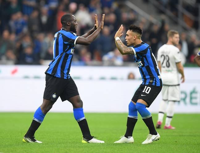 Romelu Lukaku and Lautaro Martinez have formed a brilliant partnership for Inter Milan this year. (Image Credit: PA)