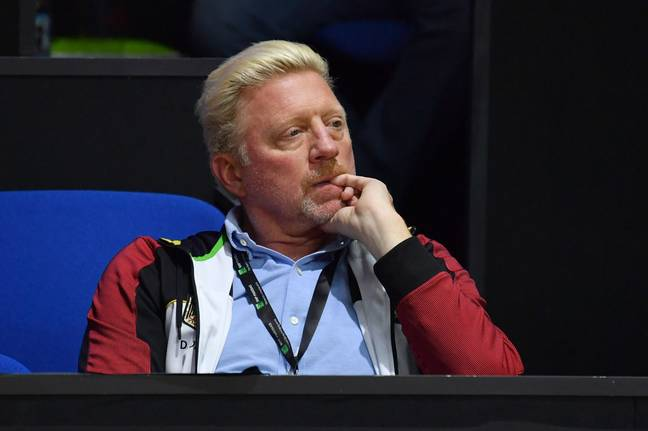 Boris Becker. Credit: PA