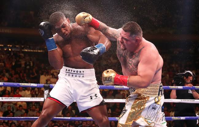 Anthony Joshua was stunned by Andy Ruiz Jr in New York. Image: PA Images