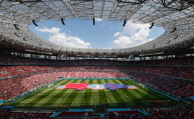 The Ferenc Puskas Stadium being at capacity has been a scene not seen in this country for a long time. Image: PA Images