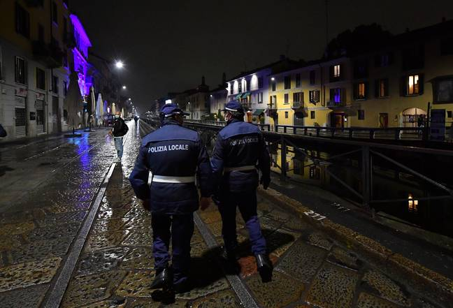The man was picked up in the middle of the night by police in Fano. Credit: PA