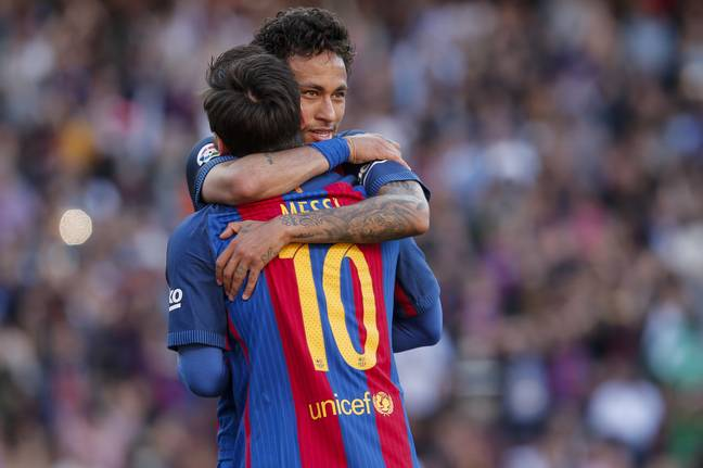 Could the return of Neymar keep Messi at the club? Image: PA Images