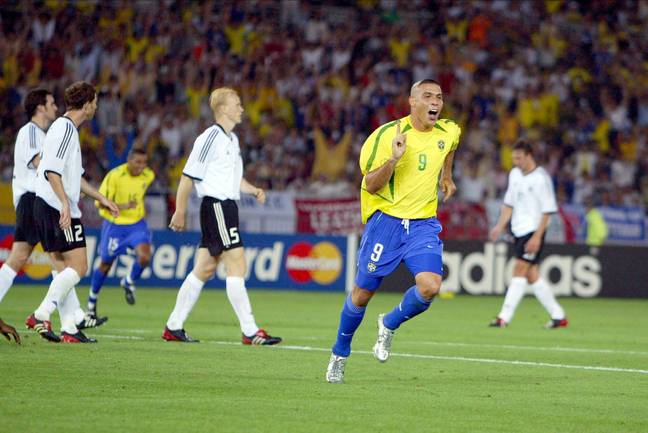 Ronaldo celebrates scoring in the World Cup final. Image: PA Images