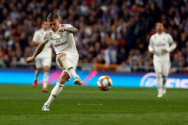 Kroos couldn't control the midfield on Wednesday and his departure could make way for Spurs' Christian Eriksen. Image: PA Images
