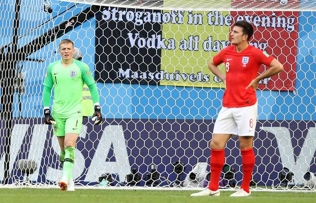 Maguire trying to work out the new competition. Image: PA Images
